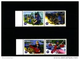 IRELAND/EIRE - 2002  SCOUTING  IRELAND CSI  SET MINT NH - 1949-... Repubblica D'Irlanda