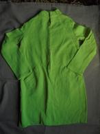 Vintage - Robe Fillette Vert Fluo Années 70 - 1940-1970
