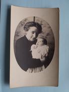 Familiefoto Periode W.O.1 Afstempeling STEENBERGEN Nederland 1919 Fam. Naegels > Fam. Renkin Borgerhout ! - Pays-Bas
