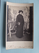 Familiefoto Periode W.O.1 Afstempeling STEENBERGEN Nederland 1915 Fam. Naegels > Fam. Renkin Borgerhout ! - Pays-Bas