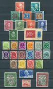 BUND SAMMLUNG 1949 -1960 KOMPLETT SAUBER GESTEMPELT MIT FDC MICHELKATALOGWERT ÜBER 1000 EURO - Briefmarken