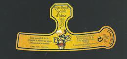 Etiquette Biere Fischer Schiltigheim  Biere Blonde Spéciale D'Alsace - Bière