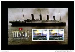 IRELAND/EIRE - 1999  TITANIC  MS  MINT NH - Blocchi & Foglietti