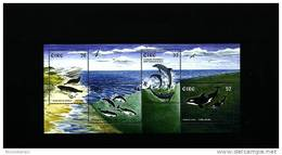 IRELAND/EIRE - 1997  MARINE MAMMALS  MS MINT NH - Blocchi & Foglietti