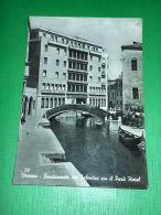 Cartolina Venezia - Fondamenta Dei Tolentini Con Il Park Hotel 1968 - Venezia (Venice)