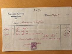 MONDOVI'-BREO-19-8-1915-DITTA MANFREDI ANTONIO - Italia