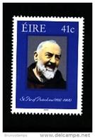 IRELAND/EIRE - 2002  ST. PIO DE PIETRALCINA  MINT NH - 1949-... Repubblica D'Irlanda