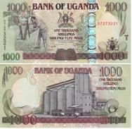 Uganda 1.000 Shilingi 2009 Pick 43-c UNC - Uganda