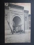 CP ESPAGNE (V1710) MALAGA (2 Vues) Puerta Muzarabe Del Mercado Grande - Málaga