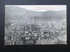 CP ESPAGNE (V1710) MALAGA (2 Vues) Vista General Edicion Especial De Los Almacenes De La Llave - Málaga