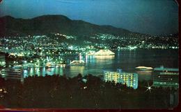 Vista De Noche, Acapulco 1977 (000453) - Mexiko