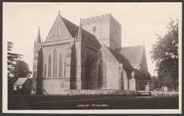 Brecon Cathedral, Breconshire, C.1910s - RP Postcard - Breconshire