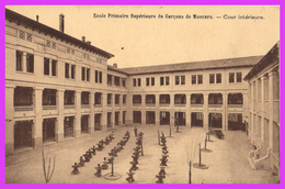 MASCARA (Mascara - Algérie) - Ecole Primaire Supérieure De Garçons De Mascara - Cour Intérieure - Andere Städte