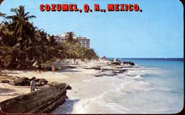 La Playa San Juan Y El Hotel Cozumel Caribe 1984 (000459) - Mexiko