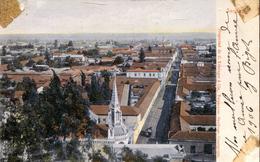Santiago - Panoramic View 1906 (000461) - Chile
