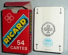 Rare Jeu De 54 Cartes NEUF, Publicitaire Pub RICARD Anisette Anis Joker - 54 Cartes