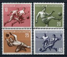 34241) LIECHTENSTEIN # 322-25 Postfrisch Aus 1954, 60.- € - Liechtenstein