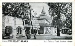 Temple Boudhiste à Kélani (000467) - Sri Lanka (Ceylon)