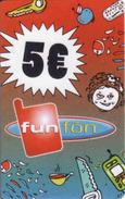 Slovakia-Slovaquie Funfon 5 €, Plastic Magnetic Card - Slovaquie