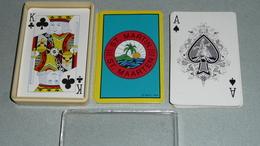 Rare Jeu De 52 Cartes Souvenir De Saint-Martin St-Maarten French West Indies, As De Pique Ace Of Spade - Cartes à Jouer