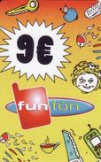 Slovakia-Slovaquie Funfon 9 €, Plastic Magnetic Card - Slovaquie
