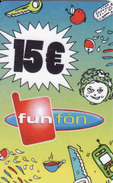 Slovakia-Slovaquie Funfon 15 €, Plastic Magnetic Card - Slovaquie