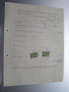 Ass. Int. D'Electric Du Sud Du HAINAUT () RANCE 1928 - Factuur ( Tax ) ! - Électricité & Gaz