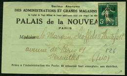 France Préo N° 26 S/bande Signé Calves - Cote 325 Euros - TTB - Préoblitérés