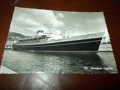 B668  Nave Cristoforo Colombo Viagg. - Barche