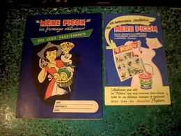 Protege Cahier Produits Fromagers Mere Picon / Personages  Disney - Buvards, Protège-cahiers Illustrés