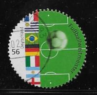 GERMANY  2002 USED  SCOTT # 2163a     SOCCER  USED - [7] République Fédérale
