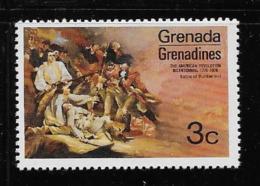 GRENADA  1976 SCOTT # 95  MNH  THE AMERICAN REVOLUTION  200 ANNIV. - Grenade (1974-...)
