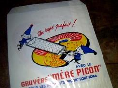 Sachet Publicitaire En Papier  Fromage/ Rapé  Mere Picon 14 X 16 Cm Env - Autres Collections