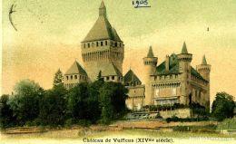 Vufflens - Château De ... Coloriert + 1908  (20958) - Other