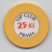 Jeton De Casino : VIP Club Praha 25 Kc - Casino
