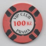 Jeton De Casino : VIP Club Praha 100 Kc - Casino