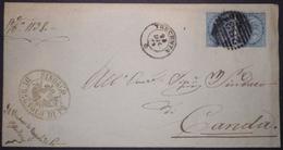 Annullo Numerale TRECENTA Rovigo Numerali Veneto Da Bagnolo Di Po - 1861-78 Vittorio Emanuele II