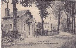 Torgny - Frontière Française, Douane Belge (animée, Edit. Mercelis, 1927) - Virton