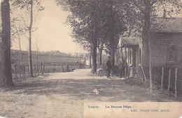 Torgny - La Douane Belge (Edit. Victor Caën, Animée, 1911...rare Mais Voir état) - Virton