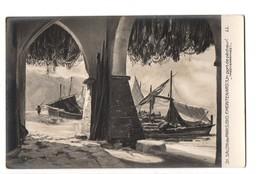 """ART . TABLEAU . F. MONTENARD . """" UN PORT DE PÊCHEUR """" . Méditérannée . SALON DE 1910 - Réf. N°3022 - - Paintings"""