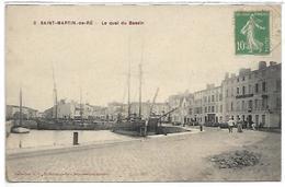 SAINT MARTIN DE RE - Le Quai Du Bassin - Saint-Martin-de-Ré