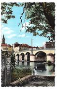 MANSLE - Vue Du Pont Et L'Hôtel Beau-Rivage - Mansle