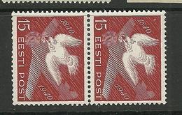 Estland Estonia 1940 Taube Michel 162 In Pair MNH - Estland