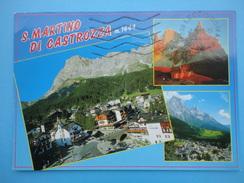 S San Martino Di Castrozza - Siror - Donatico - Trento - Vedutine - Trento