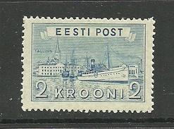 Estland Estonia 1938 Hafen Harbour  Michel 137 * - Estland
