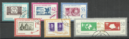 """Rumänien 2189-2194 """"6 Briefmarken Im Satz Zu Tag Der Briefmarke 1966"""" Gestempelt Mi. 1,40 - Oblitérés"""
