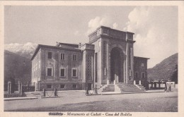 Sondrio - Monumento Ai Caduti - Casa Del Balilla * 29. 11. 1943 - Sondrio