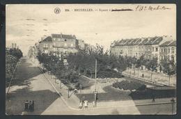+++ CPA - BRUSSEL - BRUXELLES - Square à La Rue Mahillon   // - Places, Squares