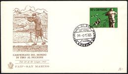 SHOOTING - SAN MARINO 1965 - CAMPIONATO DEL MONDO DI TIRO AL PICCIONE - Tiro (armi)