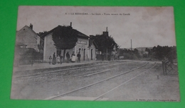 61 LA MESNIERE  La Gare  Train Venant De Condé - France